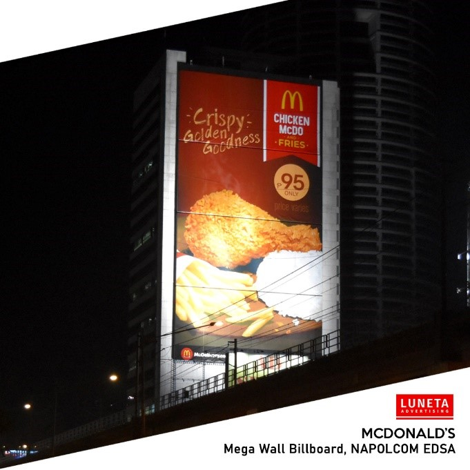 LUNETA ADVERTISING STRUCK PARTNERSHIP WITH MCDONALD'S AT THE START OF 2020